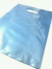 大型〈ペルシアンブルー〉ソフト型発送用ビニールバッグ(50枚)未開封品