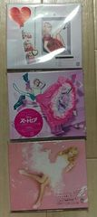 Dream Ami ドレスを脱いだシンデレラ他 初回盤DVD付シングル3枚セットE-girls