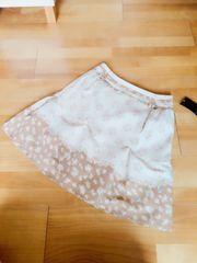 500スタ~新品WILLSELECTIONお花フェミニンスカート 定価14000円