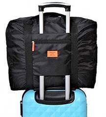 【出張に超便利】キャリーケースの持ち手に通せるセカンドバッグ