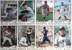 BBM.2006.Nostalgic-Baseball 昭和レジェンド・金箔シリアルカード8枚 /50