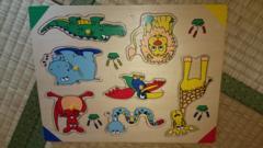 ウッドパズル 動物 〜木の優しいおもちゃ〜