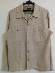 TENDERLOIN T-WOOL SHT ウールシャツ テンダーロイン ナチュラル S