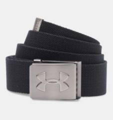 新品即決 UNDER ARMOUR Webbing Golf Belt ブラック