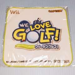 ●新品●非売品 Wii WE LOVE GOLF ミニハンカチ★