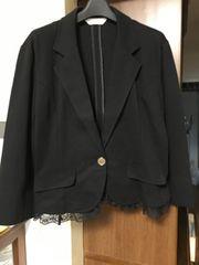 可愛い黒ジャケット
