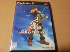 PS2☆グランディア�V☆美品♪ロープレ。SQUARE ENIX。