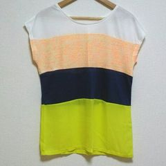 即決!! SALE!! 新品タグ付 カラフル半袖Tシャツ