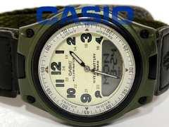 レア品 CASIO アナログ×デジタル Illuminator メンズ腕時計