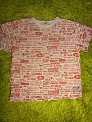 ●Dog Dept キッズ● 総柄Tシャツ 130