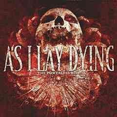 AS I LAY DYING/国内盤/THE POWERLESS RISE/メタルコア