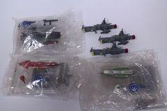 内袋未開封コスモフリートコレクション宇宙戦艦ヤマト さらば友よ編 3種+おまけ