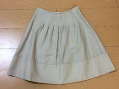 ストロベリーフィールズ☆シンプルAラインスカート☆ベージュ