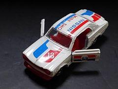 希少黒箱トミカ1970年代製スカイラインH-T2000GTRレーシング