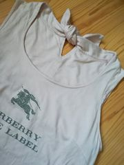 バーバリーhorse刺繍ロゴ★チェッニク、ワンピ