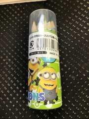 ミニオンズ円筒ケース入り12色色鉛筆