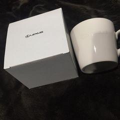 レクサス限定美濃焼マグカップ新品未使用!白