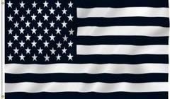星条旗 ブラック&ホワイト 白黒 アメリカ国旗