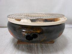 5105☆1スタ☆キッチン用品 昔ながらの炭火焼 七輪 29cm
