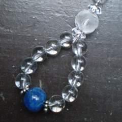龍彫水晶xラピスラズリストラップ*2