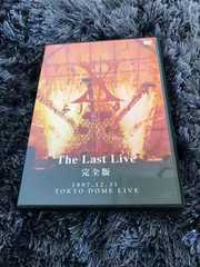 X JAPAN DVD THELASTLIVE 完全版  2DVD
