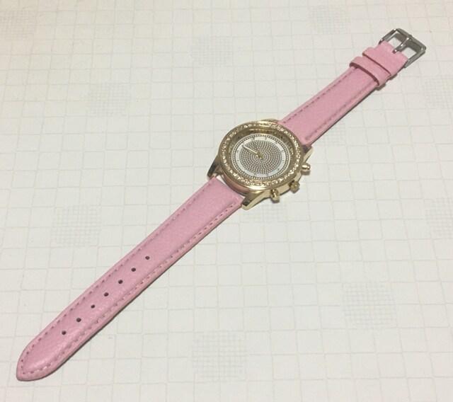 大特価スタート☆めちゃかわピンクのレディース腕時計 送料120円