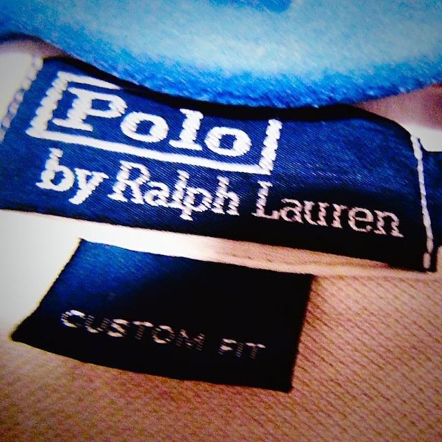 POLOのポロシャツ(S)アイボリー ! < 男性ファッションの
