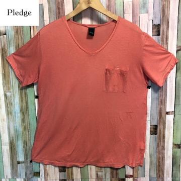 PLEDGE ポケット Tシャツ