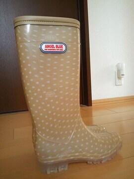 新品レインブーツ長靴24�pエンジェルブルー/ANGELBLUE