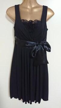 セシルマクビーCECIL McBEE黒結婚式ドレス9号