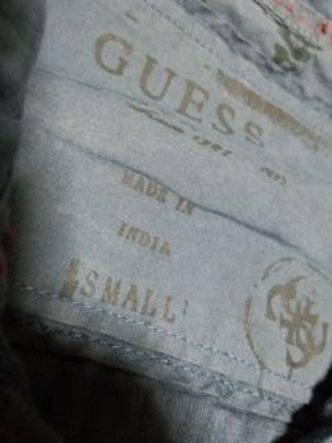 ゲス デザインシャツ GUESS < 男性ファッションの