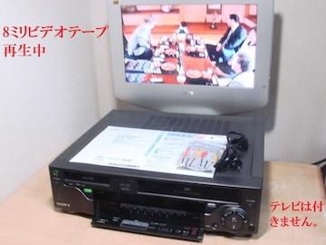 VHS + 8ミリビデオデッキWV-H2送料無料444リモコン