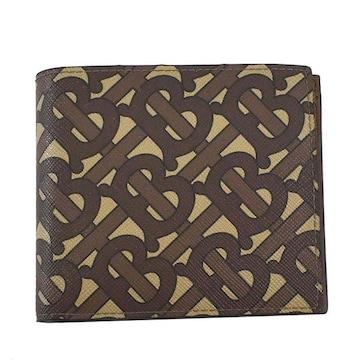 ◆新品本物◆バーバリー CC BILL COIN 2つ折財布(BR)『8022913』◆