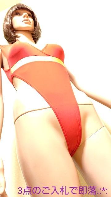 未使用品☆光沢赤シースルー×金sexyレオタード4788☆3点で即落 < レジャー/スポーツの