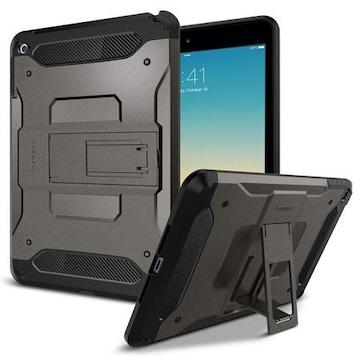 iPad Mini4 ケース 対応  ガンメタル