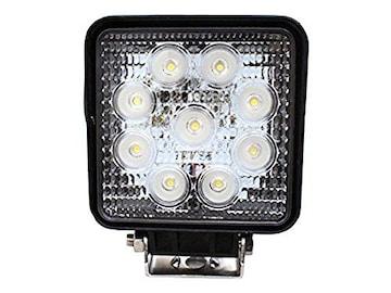 LEDワークライト(作業灯) 27W(12V-24V対応)