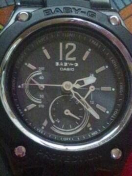 カシオBABY-Gショックタフソーラー電波腕時計アナログ針価45000円