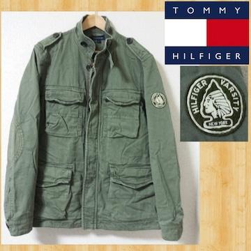 TOMMY HILFIGER VARSITY ミリタリーフィールドジャケット M-65 M