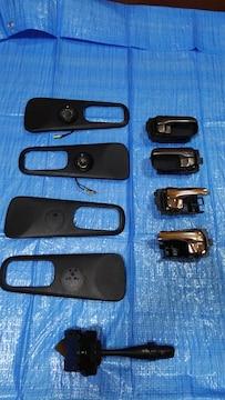 S15シルビア、ドアハンドル、エスカッション、ライトレバーセット
