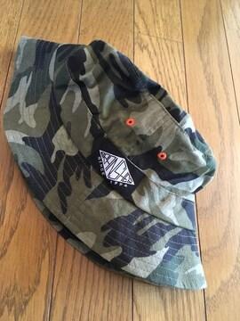 ブランシェス BRANSHES迷彩ハット帽子UV仕様新品未使用タグ付き