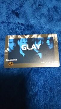 レア☆GLAY音楽ギフトカード☆新品