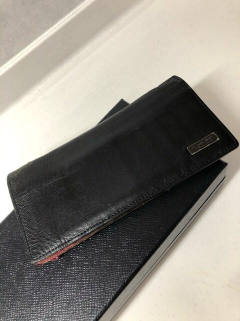 1スタ☆Burberry black label 長財布