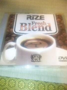 DVD,RIZE/Fresh Blend 帯あり