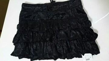 「TRALALA」ミニスカート黒ベアロ