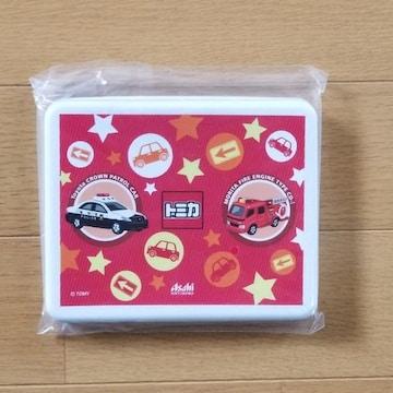 非売品 アサヒ飲料 トミカ・プラレール [おでかけサンドイッチケース] レスキューシリーズ