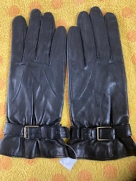 クロエ 革革手袋22サイズ黒
