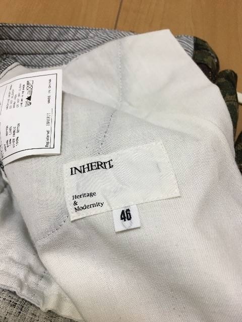 INHERIT カモフラージュ 迷彩 ショートパンツ ジャーナル < 男性ファッションの