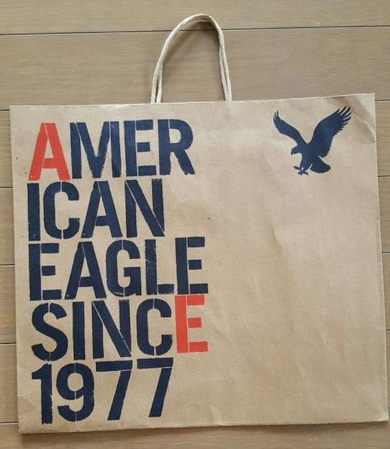 【アメリカンイーグル★ショップ袋】#アメリカ#紙袋#プレゼント  < ブランドの