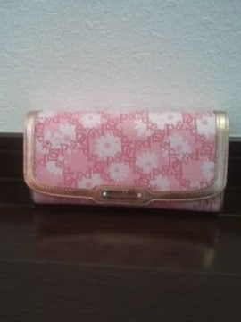 Pinky&Dianne(ピンキー&ダイアン)パスケースつき長財布