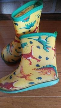 中古 長靴 16�p 恐竜